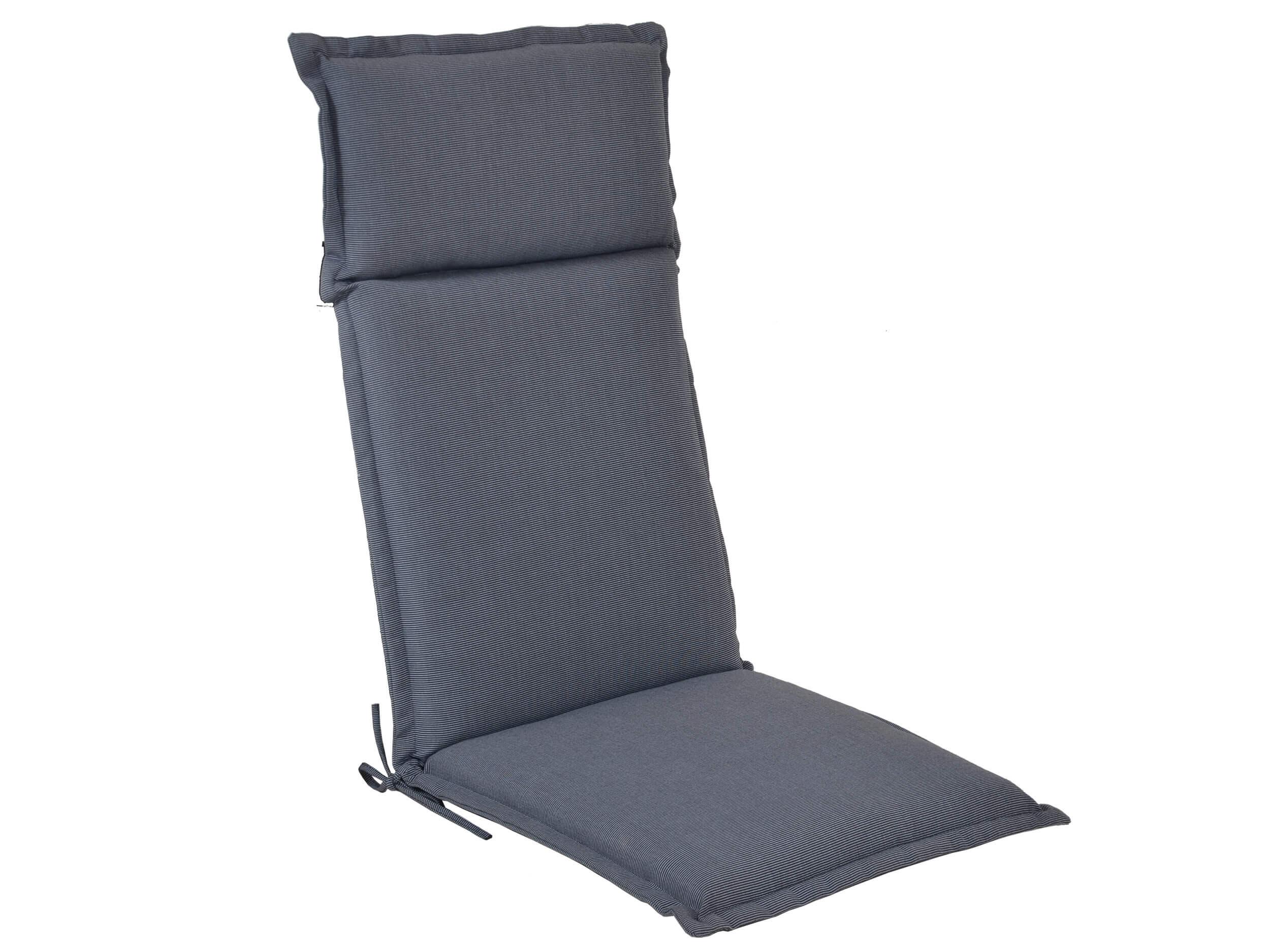 polsterauflage malibu f r hochlehner farbe grey gartenm bel l nse. Black Bedroom Furniture Sets. Home Design Ideas