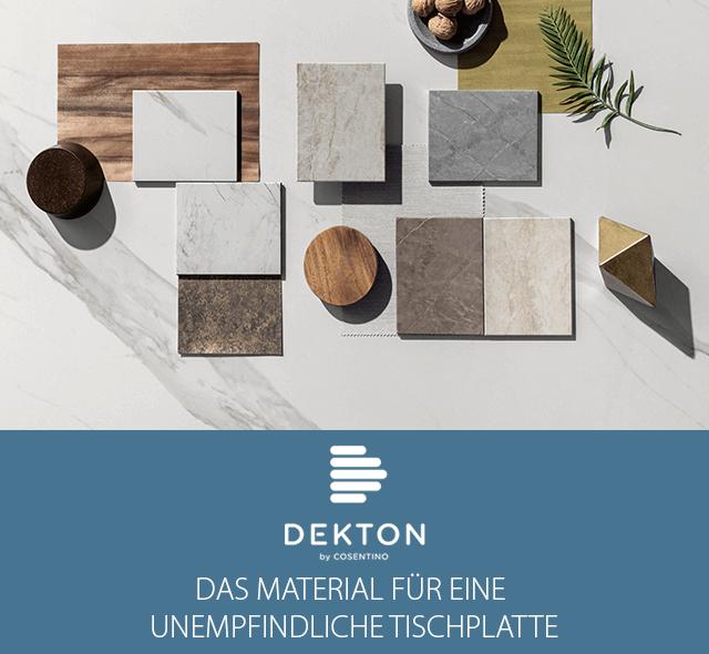 Dekton - DAS Material für eine unempfindliche Tischplatte