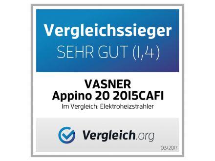 Vorschau: Infrarot-Heizstrahler Appino 20 Silver