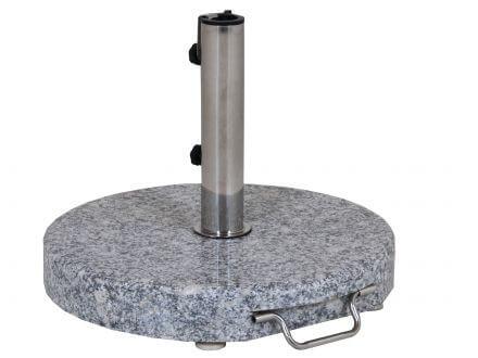 Schirmständer 35kg Granit grau Ø50cm