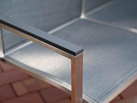 Vorschau: Detailbild Aluminium Armlehne