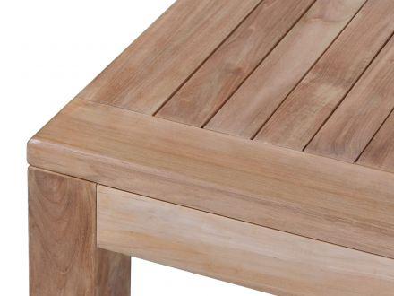 Vorschau: Teakholz Dining-Tisch Frankfurt 160x90cm