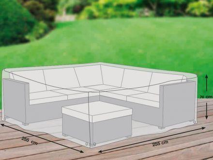 Vorschau: gardissimo Schutzhülle für Eck-Lounge Premium Plus Leicht 255x255cm