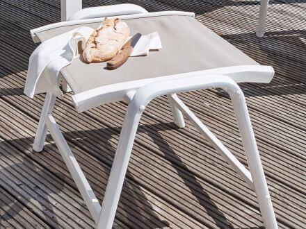 Vorschau: Vista Hocker weiß-beach-grey Ambientebild