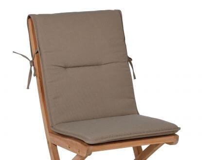 Vorschau: Klappstuhl- & Sessel Auflage Malibu, Farbe: sand