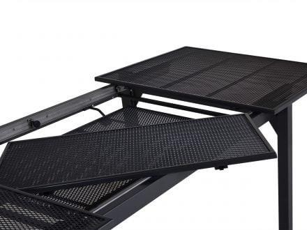 Vorschau: Kettler Ausziehtisch, Einlegeplatten im Tisch verstaubar