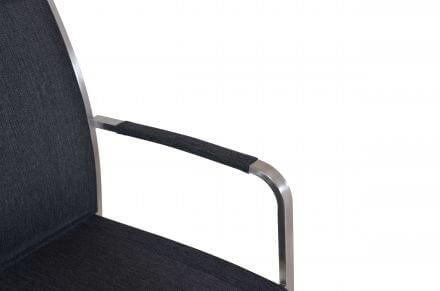 Vorschau: Detailbild Armlehnen mit Outdoorgewebe ummantelt
