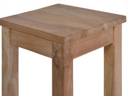Vorschau: Holz Barhocker aus hochwertigem Teak