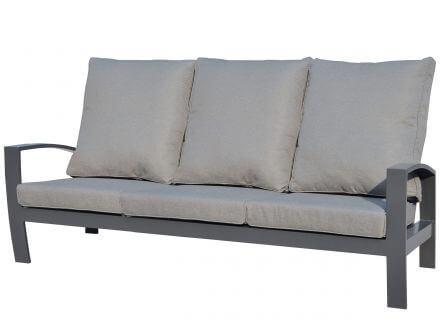 Tierra Outdoor Aluminium Lounge Valencia 3-Sitzer Sofa