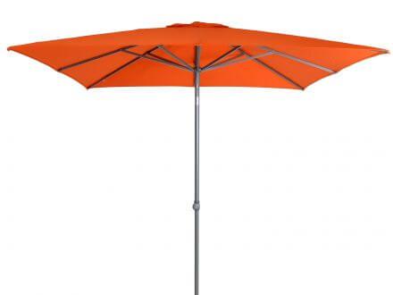 Vorschau: Sonnenschirm Push-Up 240x240cm Orange