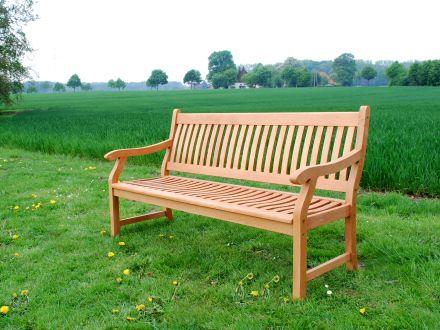 holz gartenbank new england 160cm 2 sitzer gartenm bel l nse. Black Bedroom Furniture Sets. Home Design Ideas