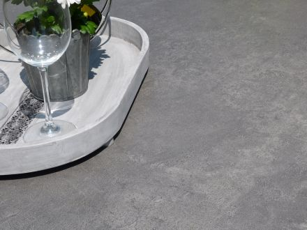 Vorschau: Hochwertige Keramik Tischplatte mit edlem Dekor