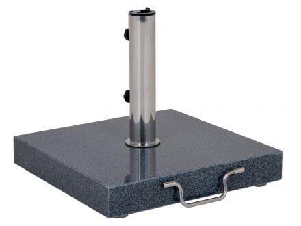 Schirmständer 35kg Granit anthrazit 45x45cm