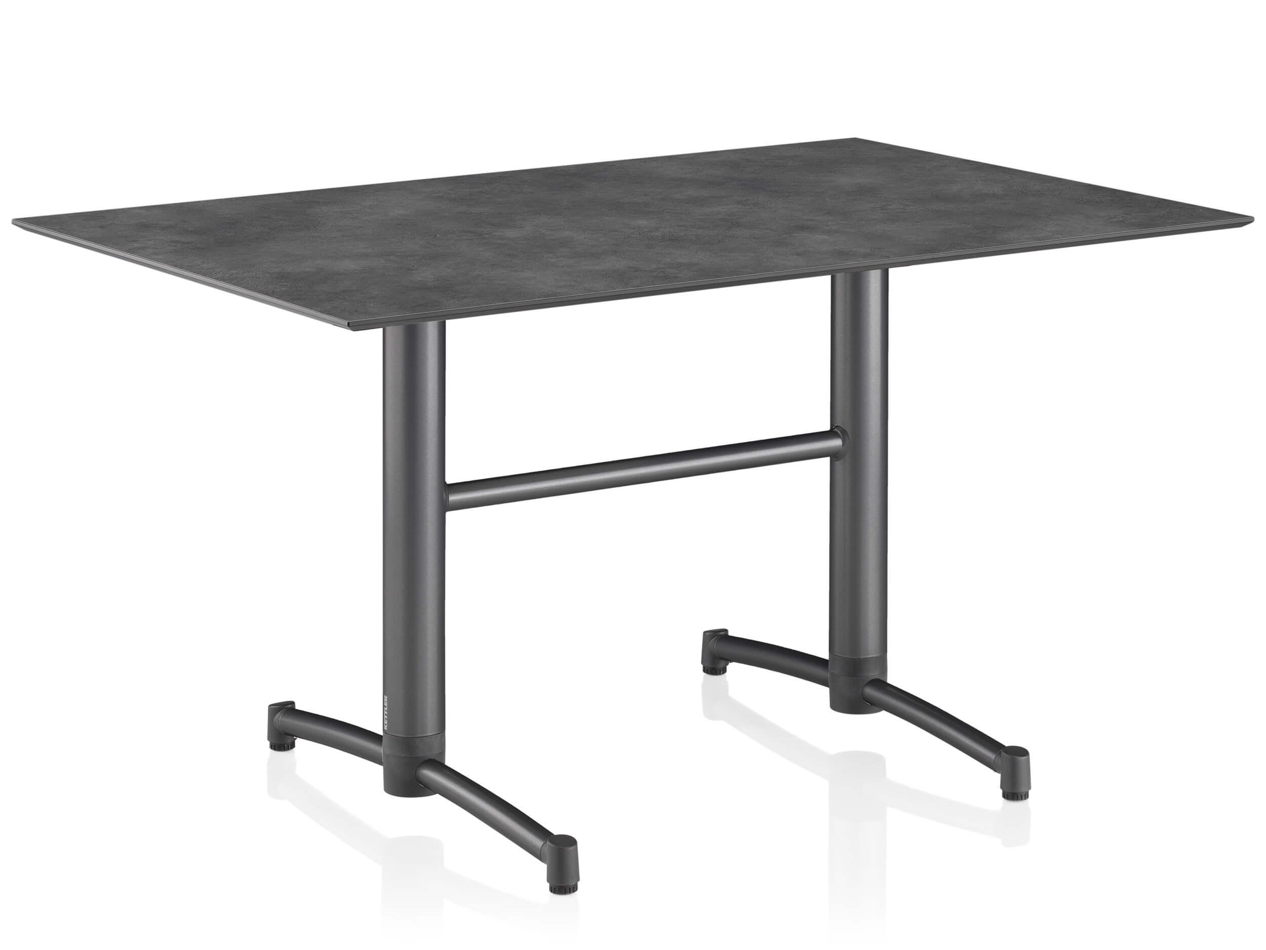 klapptisch kettler tube anthrazit anthrazit 140x95cm gartenm bel l nse. Black Bedroom Furniture Sets. Home Design Ideas