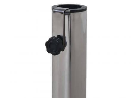 Vorschau: Granit Schirmständer 60kg, Teleskopgriff und Rollen, #20