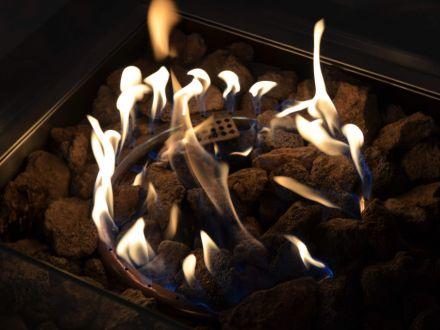 Vorschau: ACTIVA Asano Feuerstelle Gas mit Lavasteinen