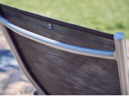 Vorschau: Outdoorgewebe-Bespannung graphit