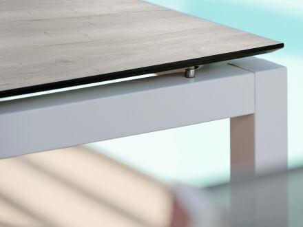 Vorschau: Stern Aluminium weiß mit Silverstar Touch Tundra Kalk
