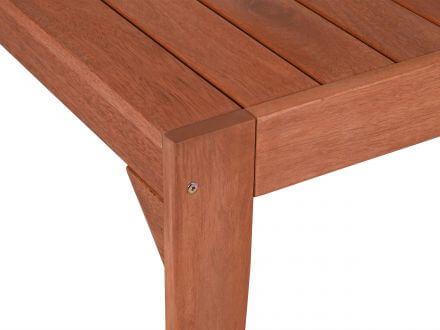 Vorschau: Lünse Holz Gartentisch Lazio 180x90cm