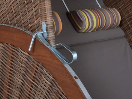 Vorschau: Strandkorb Trendy Pure Classic XL Sun griseum 480