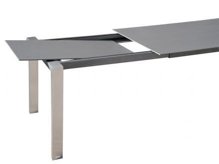 Vorschau: Kulissenauszug (Beine wandern mit), Einlegeplatte im Tisch verstaubar
