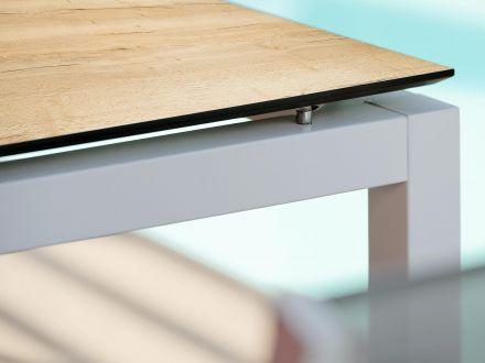 Vorschau: Stern Aluminium weiß mit Silverstar Touch Tundra natur