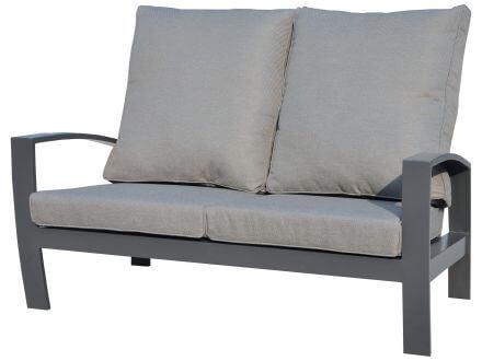 Vorschau: Tierra Outdoor Aluminium Lounge Valencia 2-Sitzer Sofa