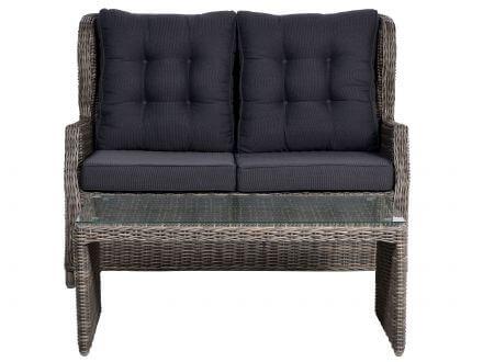 Vorschau: Salerno Lounge Sofa & Tisch freigestellt