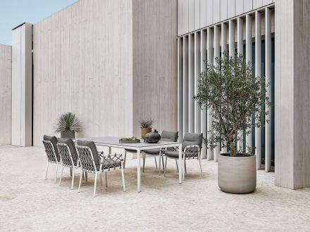 Vorschau: solpuri Soft Alu Keramik Dining Tisch