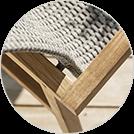Leah - hochwertiger Materialmix