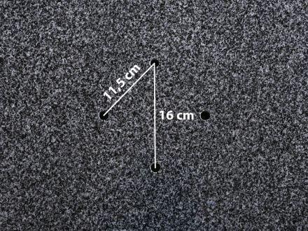 Vorschau: Lünse Rollen Granitsockel 120kg 4-Loch für Ampelschirm Duraflex