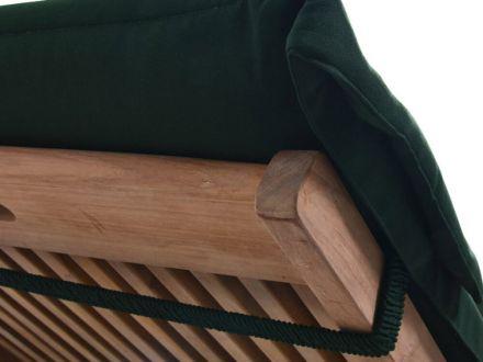 Vorschau: Auflage mit rückseitigem Halteband mit Gummizug
