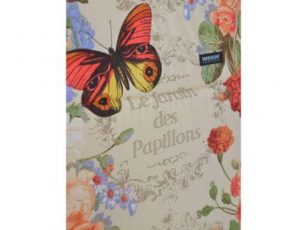 Vorschau: Printdesign mit Schmetterlingen und Blumen