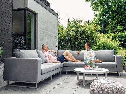 Vorschau: Kettler EGO Lounge-Set SUNBRELLA® Ambientebild (Tisch nicht im Lieferumfang)