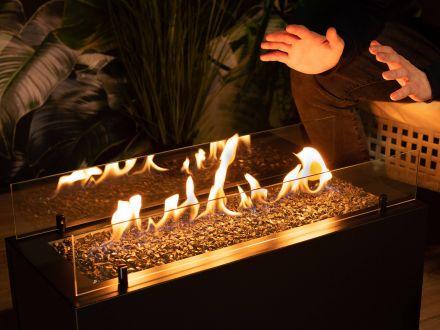 Vorschau: Planika Rio Garten Gas Feuerstelle