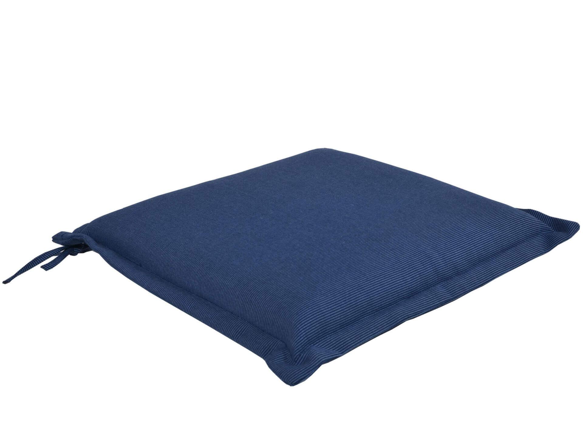 Sitzkissen für Gartenstühle Malibu 42x42cm denim-blue