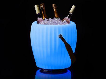 JOOULS LED & Lautsprecher Sektkühler Blumenvase The Joouly Bowl