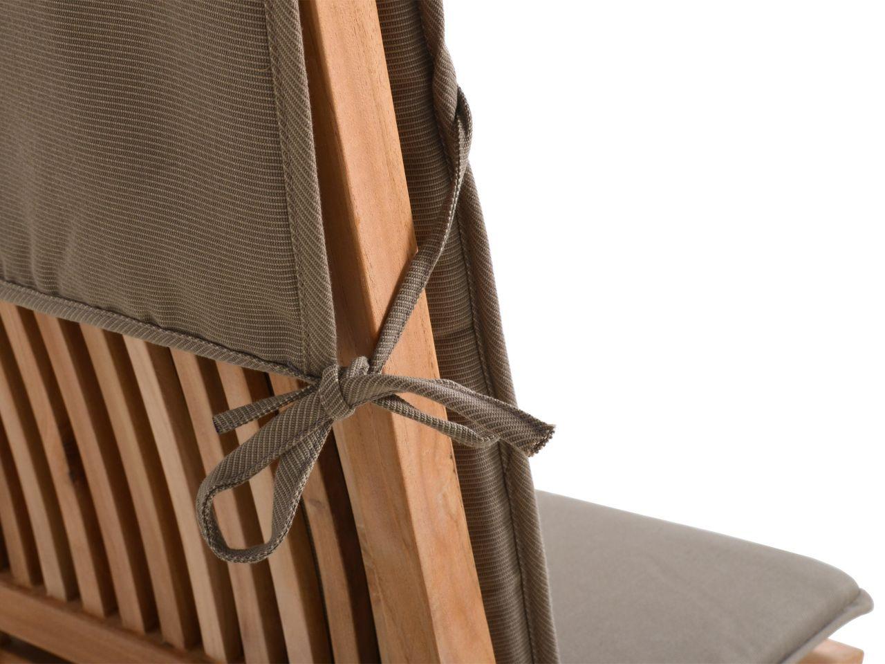 Stuhlauflage mit flexibler Befestigung