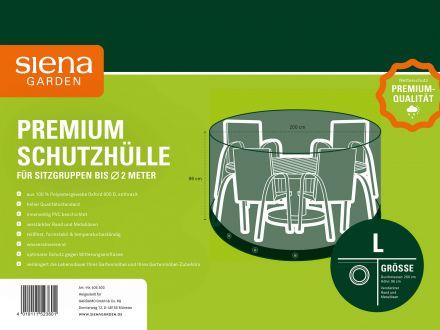 Vorschau: Siena Garden Sitzgruppen Schutzhülle Ø200cm Oxfordgewebe