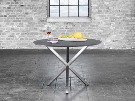 Vorschau: Gartentisch Trix mit 10 mm HPL-3D-Tischplatte