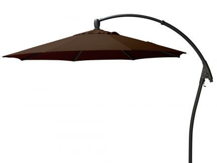 Bellagio Ampelschirm Manhattan Ø350cm Black Coffee
