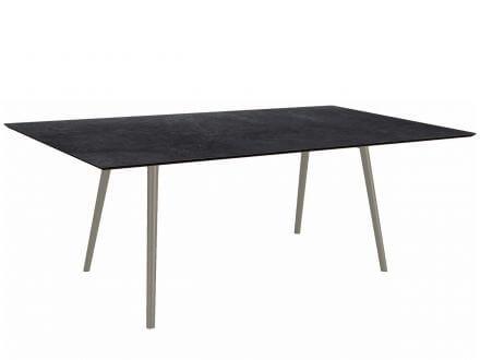 Vorschau: Stern Tischsystem Interno Rundrohr konisch Aluminium Silverstar 2.0