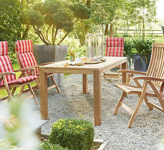 Terrassenmöbel teakholz  Teakholz Gartenmöbel | Gartenmöbel Lünse