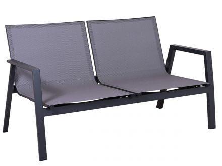 Vorschau: Detailbild Sitz- und Rückenfläche mit bequemer Outdoorgewebe-Bespannung