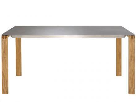 Solpuri Safari Gartentisch 160x100cm Teakholz/Keramik