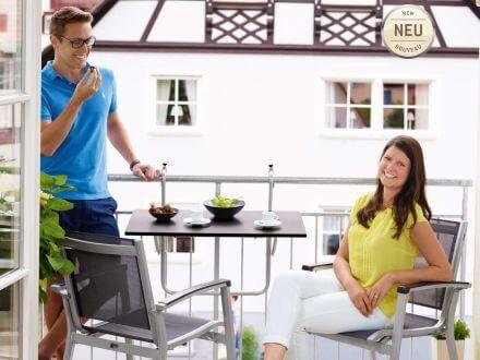 Vorschau: Sieger Balkon Hängetisch - Anwendungsbeispiel