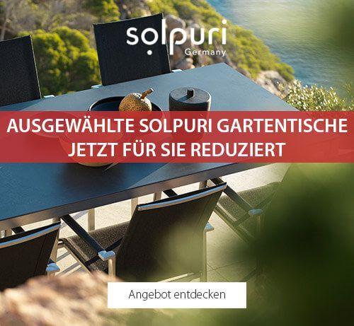Ausgewählte Solpuri Gartentische - jetzt für Sie reduziert!