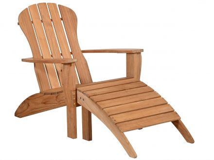 Lünse Teakholz Premium Adirondack Chair Milano