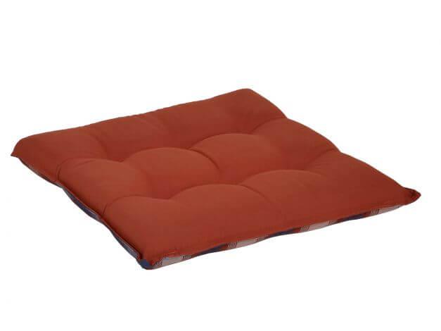 sitzkissen blau rot kariert 50x50cm gartenm bel l nse. Black Bedroom Furniture Sets. Home Design Ideas