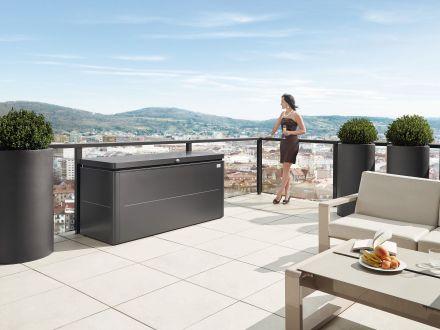Vorschau: LoungeBox - Ambientebild auf Dachterrasse